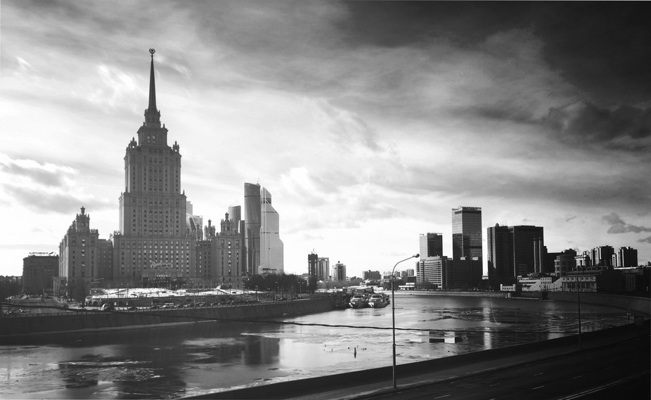 Somber Side of Moscow