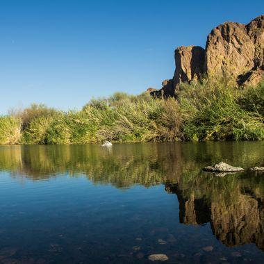 Saguaro Lake in AZ