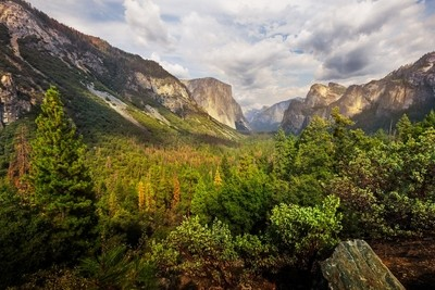 Yosemite - Tunnel View (Wide Angle)
