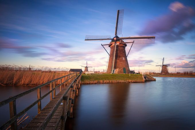 Windmill in Holland by dragosioneanu - Windmills Photo Contest