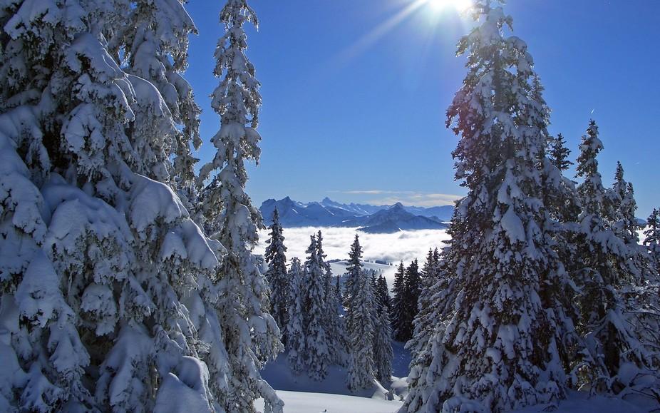 Haut Savoie on Snow Shoes
