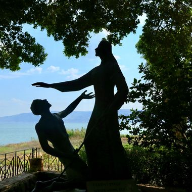Jesus at the Sea of Galilee!
