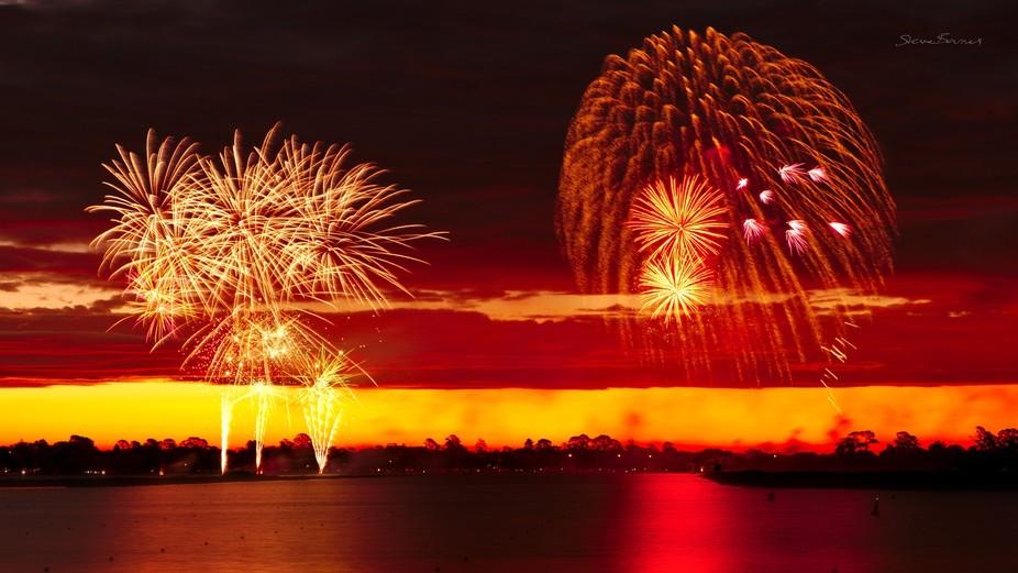 Ballarat's Australia Day Fireworks 2018    K1SB4644