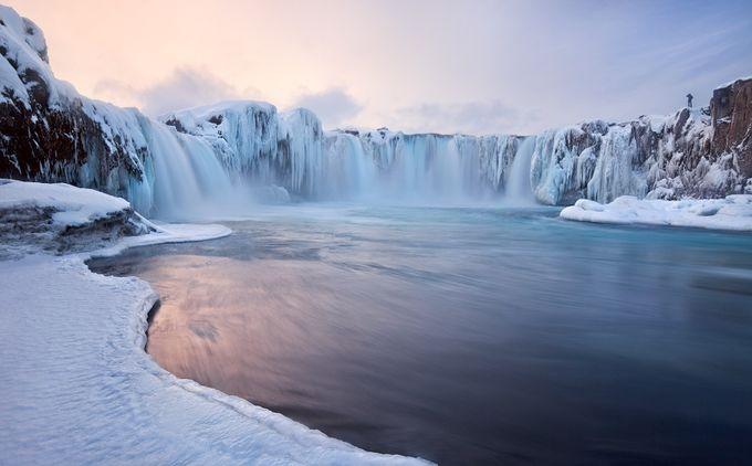 Goðafoss by ValeriyShcherbina - The Cold Winter Photo Contest