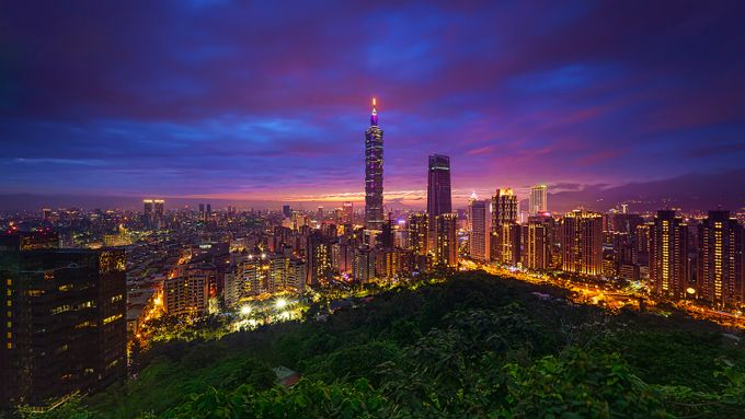 Taipei City by GkCM - Tall Structures Photo Contest
