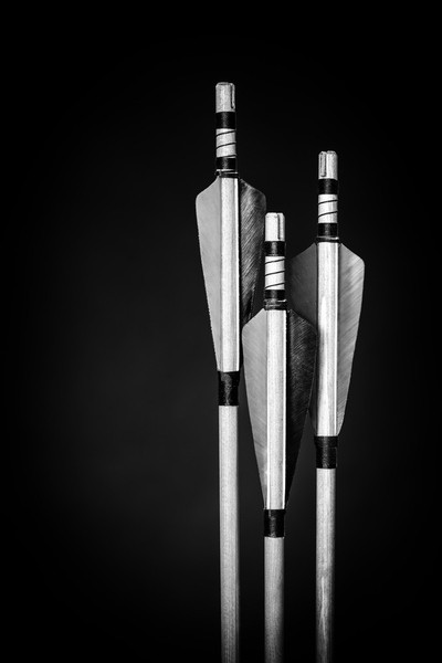 Three Bow Arrows