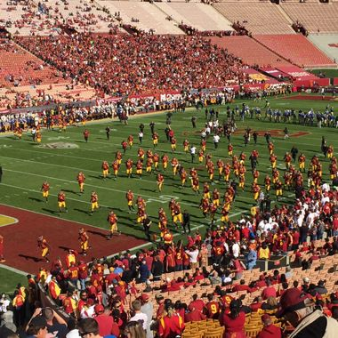 Supreme competition USC vs UCLA!