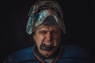Hockey goaline