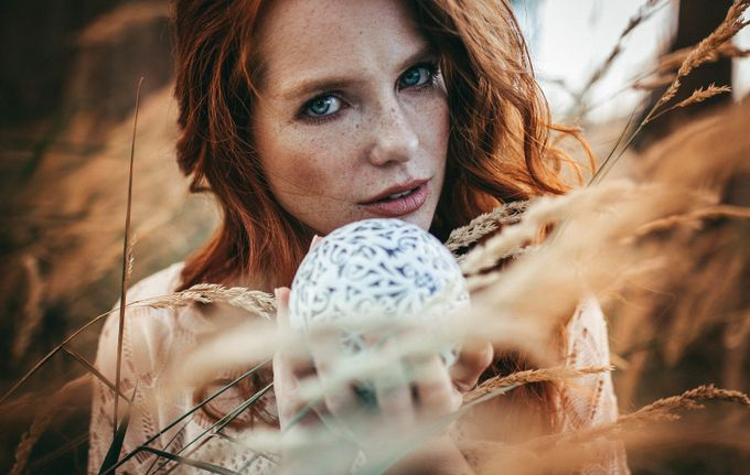 its in our hands by dominickrug - Faces With Freckles Photo Contest