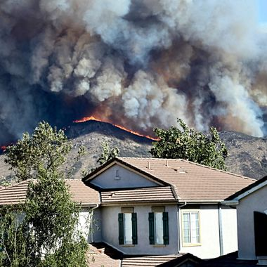 Frightening and tragic Southern California fires!