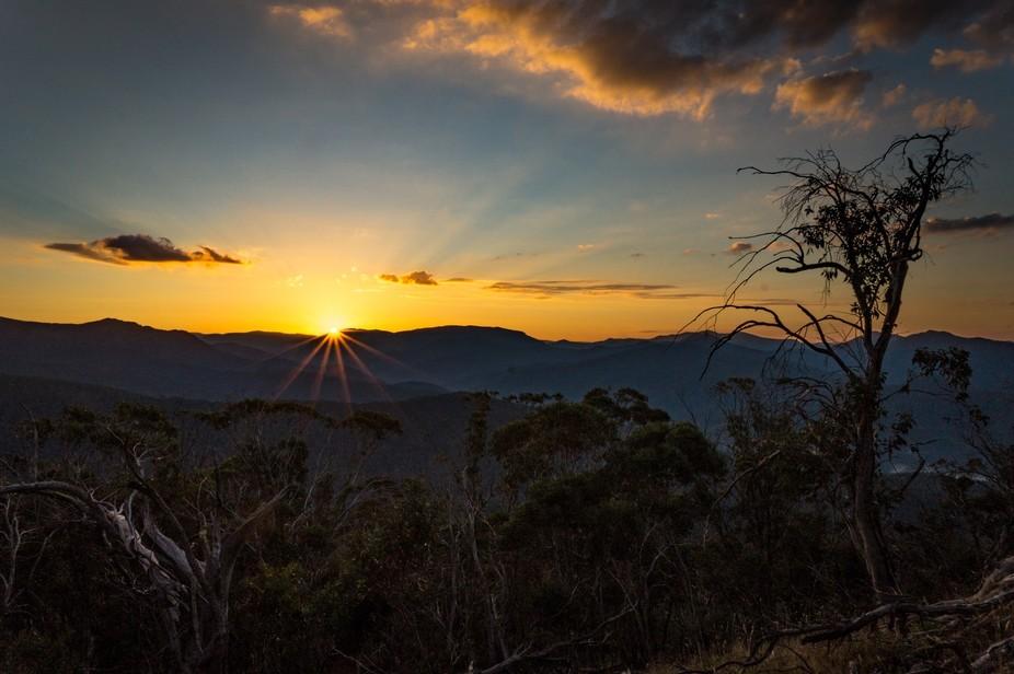 Mount Timbertop at Sunrise