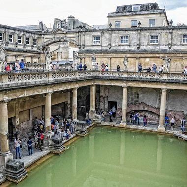 Roman Baths (2),  Bath , England