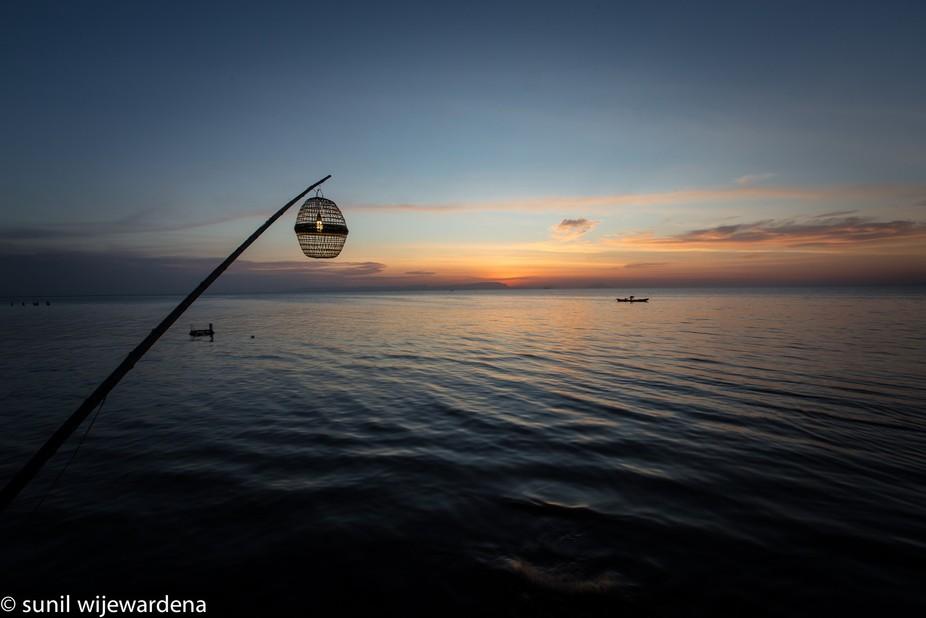 long exposure sunset shoot on Cambodia Kep coast