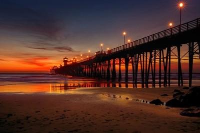 Last Light at the Pier