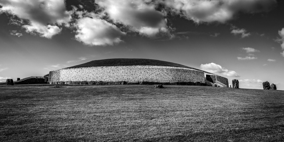 This is Newgrange Monument in Co Meath, Ireland. This is one of the best places I visited on my t...