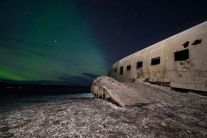 DC-3 by Megabrain - Our World At Night Photo Contest