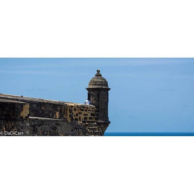 """This is called a """"Garrita"""" a type of watchtower used by the old militia in the island."""