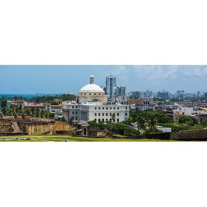 The Capitol in San Juan Puerto Rico, it resembles that of some of the States here in USA.