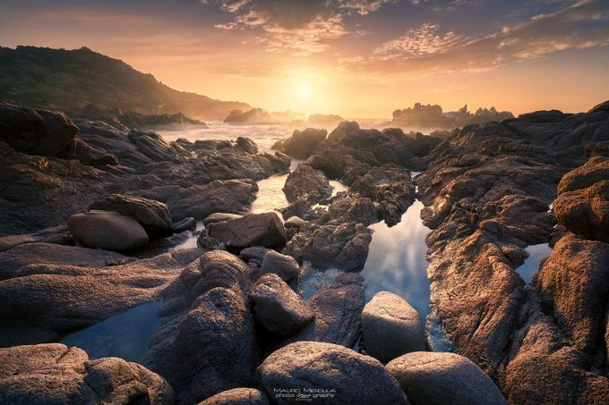 Golden Rocks by Mauro_Mendula - Creative Landscapes Photo Contest