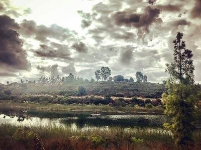 #morning #run around the #lake ???????????????????????????? #lakemiramar #morningrun #sandiego #nikerunning