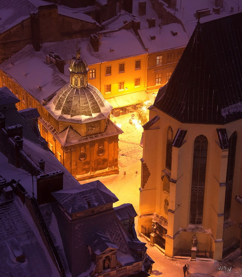 Old Chapel & Winter by Myroslav - Rooftops Photo Contest 2018