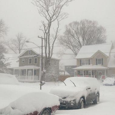 Prue white snow