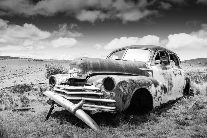 Old Chevy by saboytjie - Abandoned Photo Contest