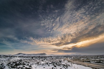 Winter in North Iceland