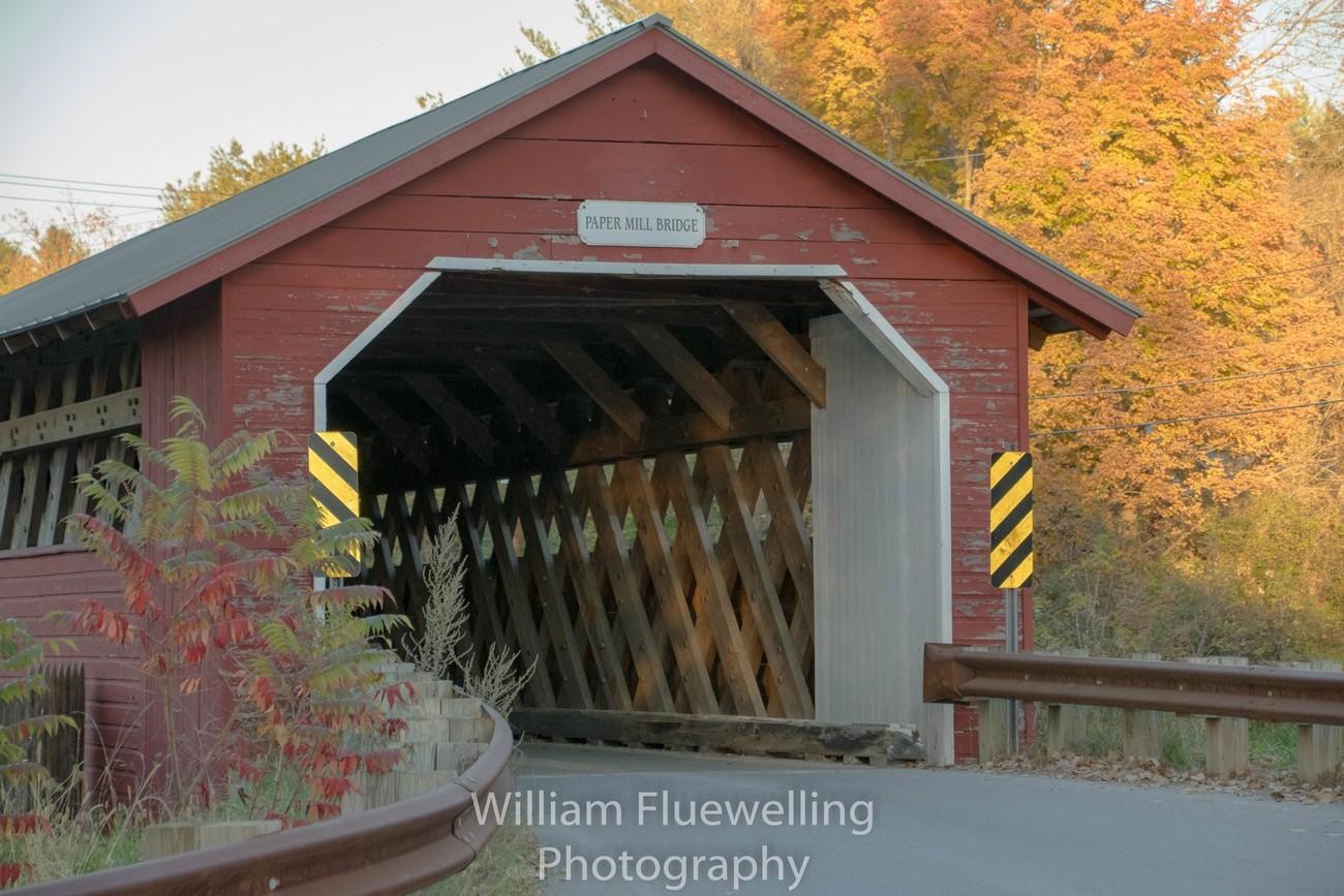 Paper Mill Wooden Bridge