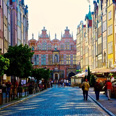 Walled city of Gdansk!