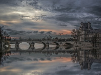 Bridge at Seine River (Paris)