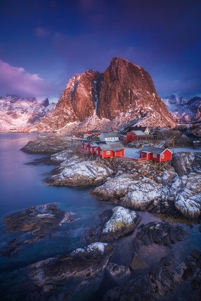 Hamnoy in winter