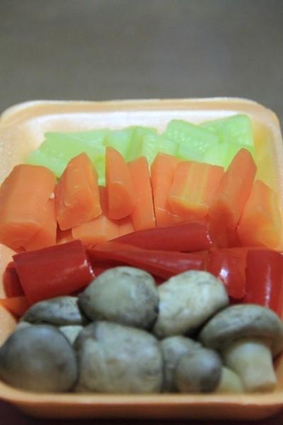 Boiled vegetables 5