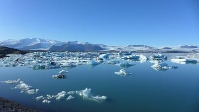 Glacier & Iceberg in Iceland