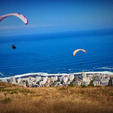 View over Capetown, SA!