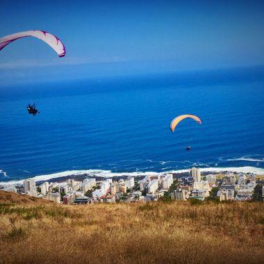 View over Capetown, SA!