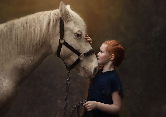 Friendship by evelinaraguckiene - People And Animals Photo Contest