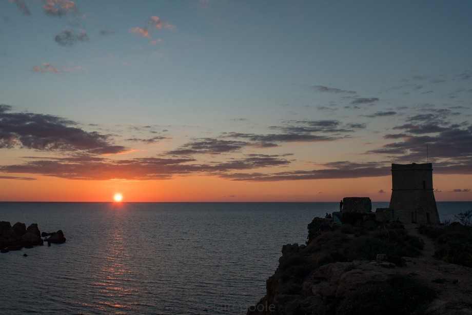 Sunset in Malta