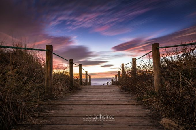 The way by joelcalheiros - The Moving Clouds Photo Contest