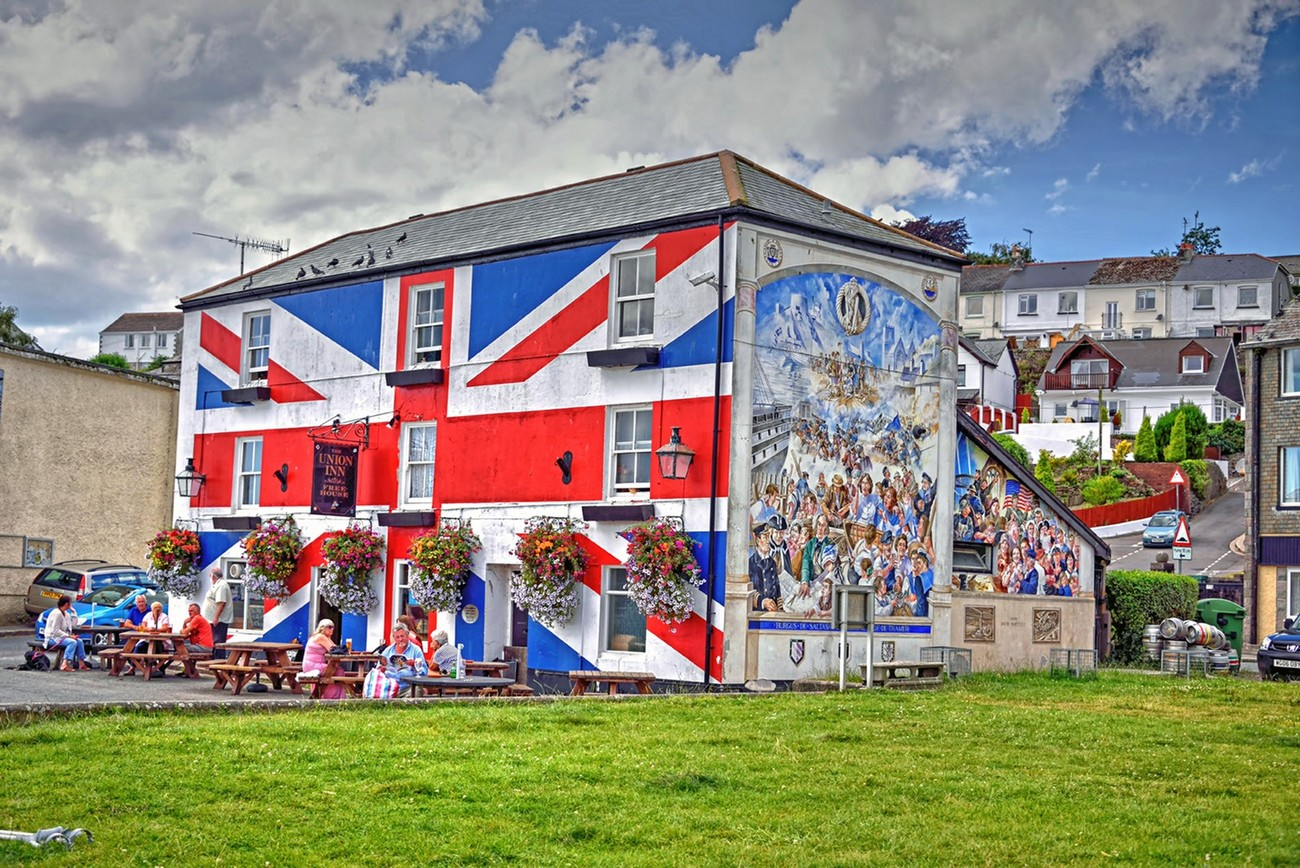 Union Inn, Saltash, Cornwell, England