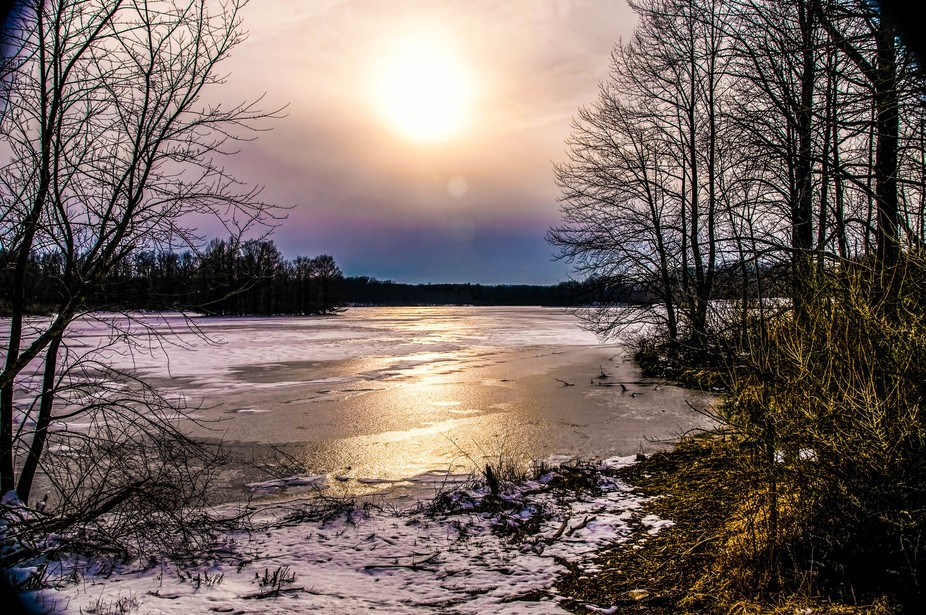 ice lake shine