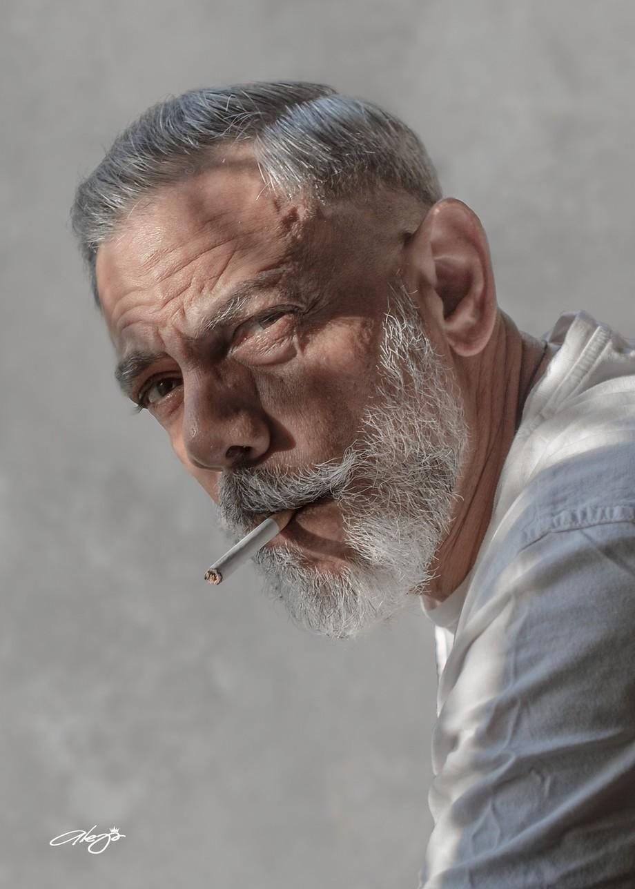 Selfportrait by alejandroreynaklindt - Male Portraits Photo Contest