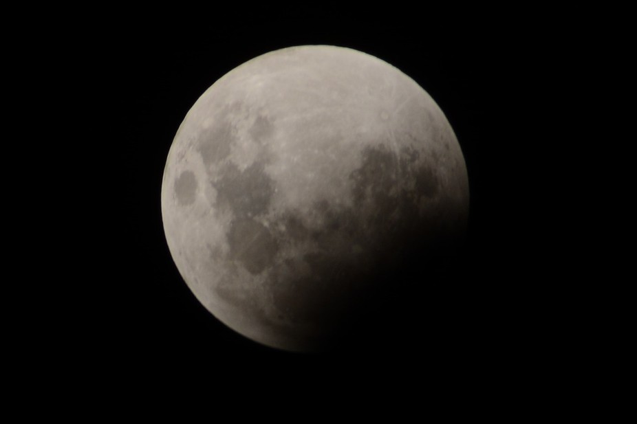 This is my first attempt and photographing the moon, I have a lot to learn but love the outcome :-)