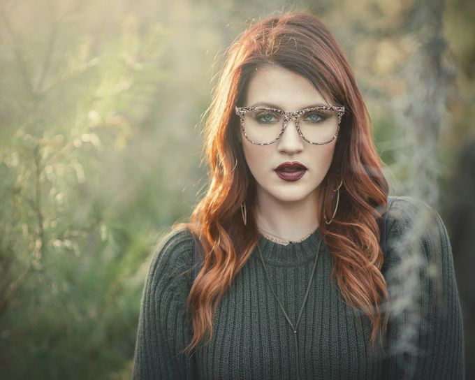 Laurel with Glasses by edgeflorida - Image Of The Month Photo Contest Vol 29