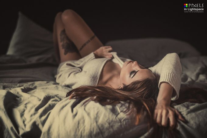 Sensual moods in bed by PixelsInLightspace - Image Of The Month Photo Contest Vol 29
