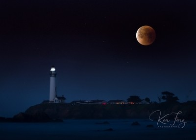 Pigeon Point Blood Moon