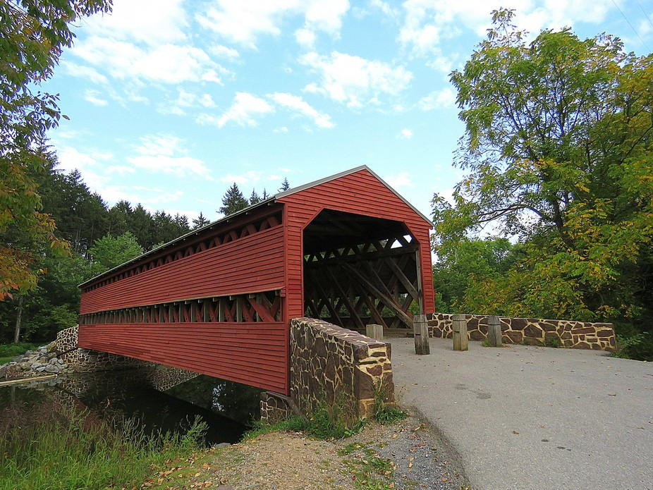 Sachs Covered Bridge, Gettysburg, PA.