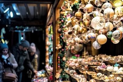 Christmas market decoration