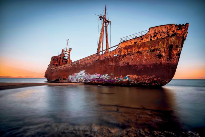Demetrios shipwreck, Githio Greece by silviosinbad - Abandoned Photo Contest