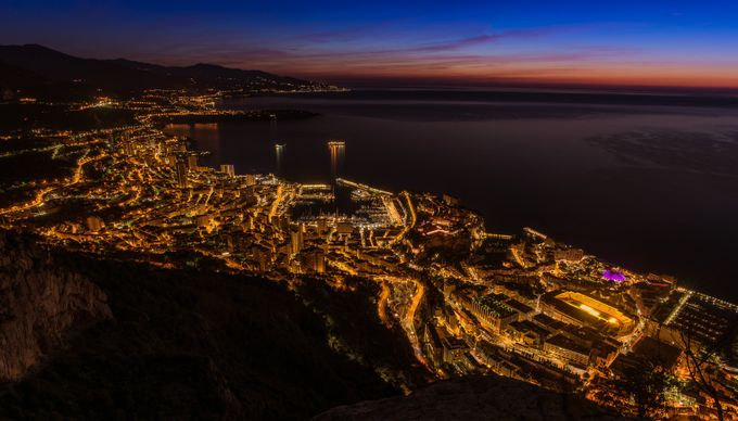 Monaco before sunrise... by Alexlud - Sunset And The City Photo Contest